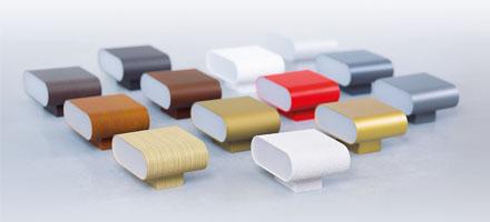 Caleo mini lamper i forskellige farver og teksturer - Luminex