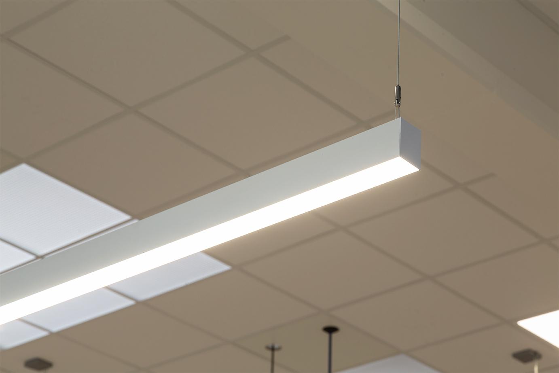 Matric pendel nedhængt fra loft nærbillede - Luminex