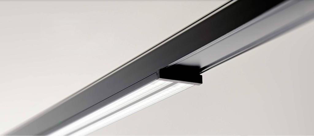 Nærbillede af Linia Flat lampe - Luminex