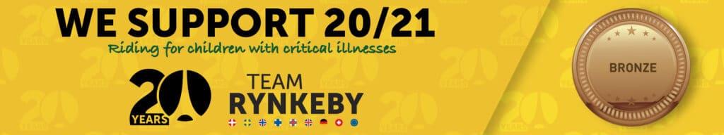 Vi støtter Team Rynkeby 2021