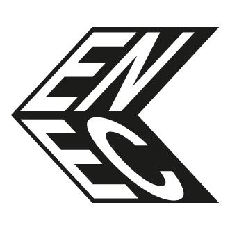 ENEC mærket fortæller om produktet er sikkert i overensstemmelse med de europæiske direktiver