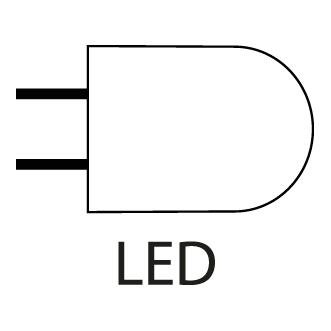 Ikon for LED belysning