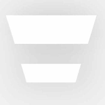 Cubic Max Recessed Frameless M2 lampe - Luminex