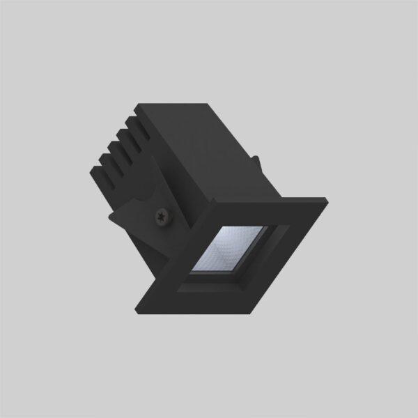 Fabio 35 Black downlight lampe - Luminex