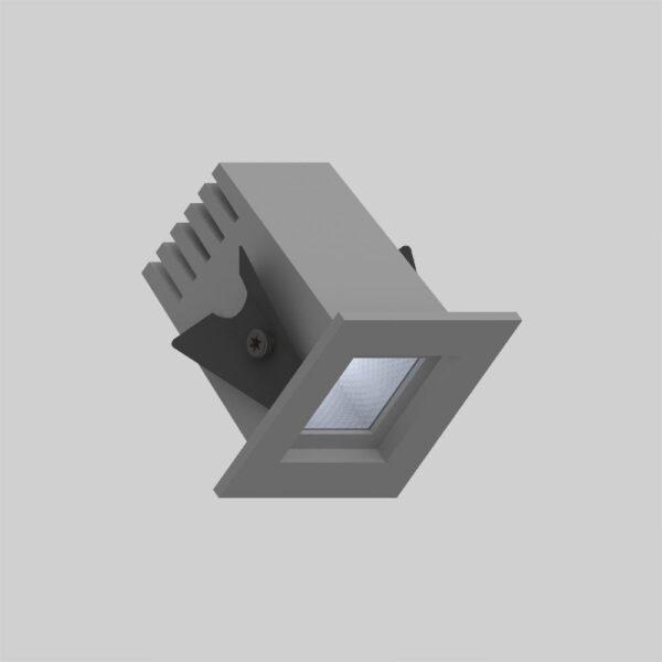 Fabio 35 Grey downlight lampe - Luminex
