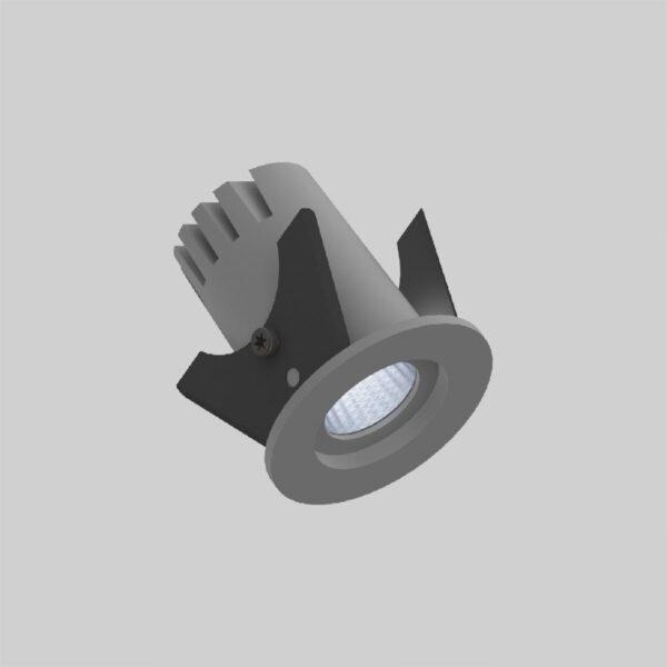 Fluxe 35 Grey downlight lampe - Luminex
