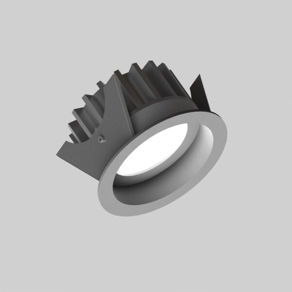 Fluxe 75 Grey downlight lampe - Luminex