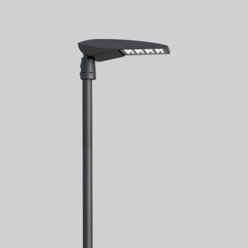 Kai Pole Sort udendørslampe - Luminex