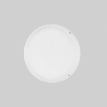 LED Bulkhead hvid lampe monteret på væg eller loft - Luminex
