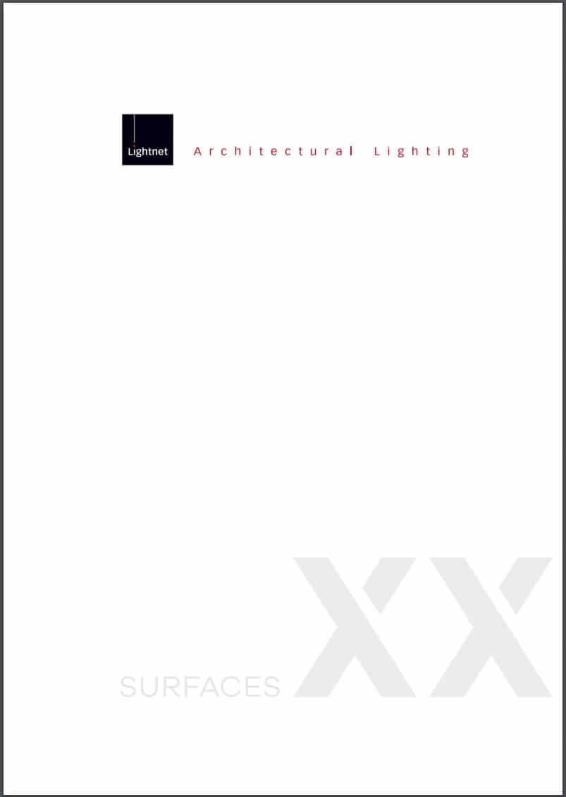 Lightnet Surface Design forside