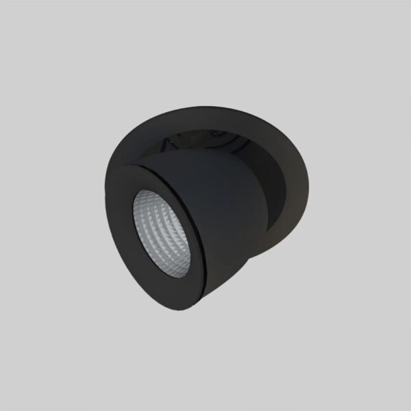 Linea DS-A 195 Adjustable Black justerbar spot lampe - Luminex