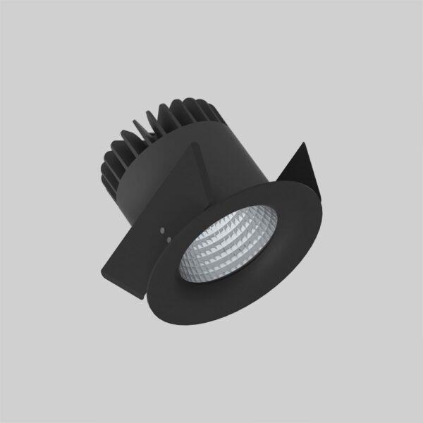 Linea DS-F 150 Black downlight lampe - Luminex