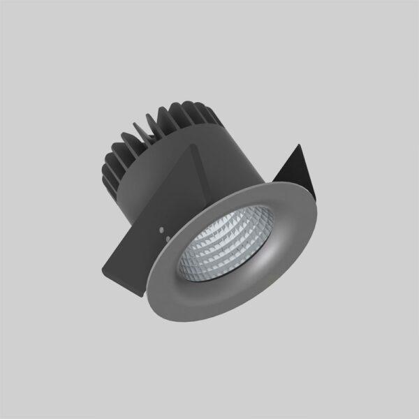 Linea DS-F 150 Grey downlight lampe - Luminex