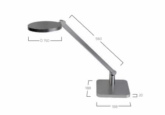 Lucille Table T2 lampe MÅL