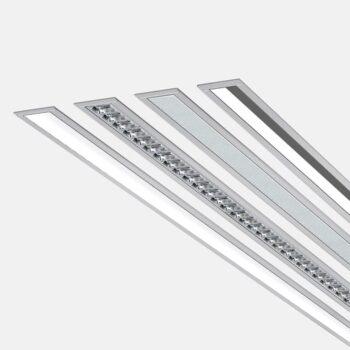 Matric 55mm Recessed Frame F3 lampe - Luminex