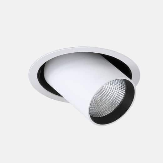 Midpoint Recessed M6 lampe - Luminex