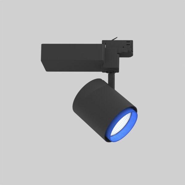 Odion 3F XL BL Blu spot i skinne - Luminex