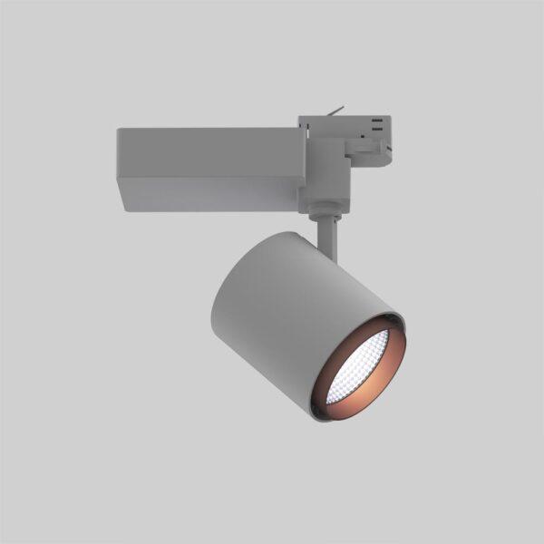 Odion 3F XL GR CO spot i skinne - Luminex