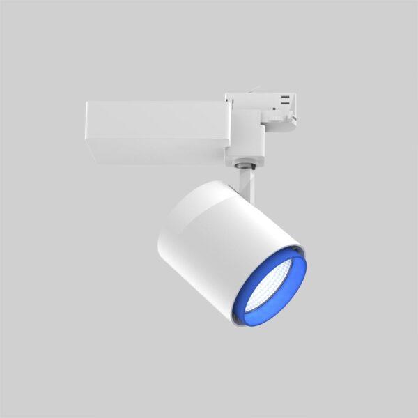 Odion 3F XL WH Blu spot i skinner - Luminex
