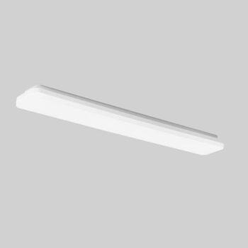Slice Long 1200 aflang lampe monteret på væg eller loft - Luminex