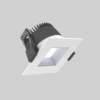 Quad 75 White Downlight lampe - Luminex