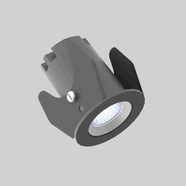 Strada 35 Black white Downlight lampe - Luminex