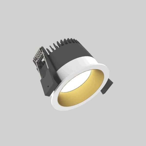 Strada 75 White Gold Downlight lampe - Luminex