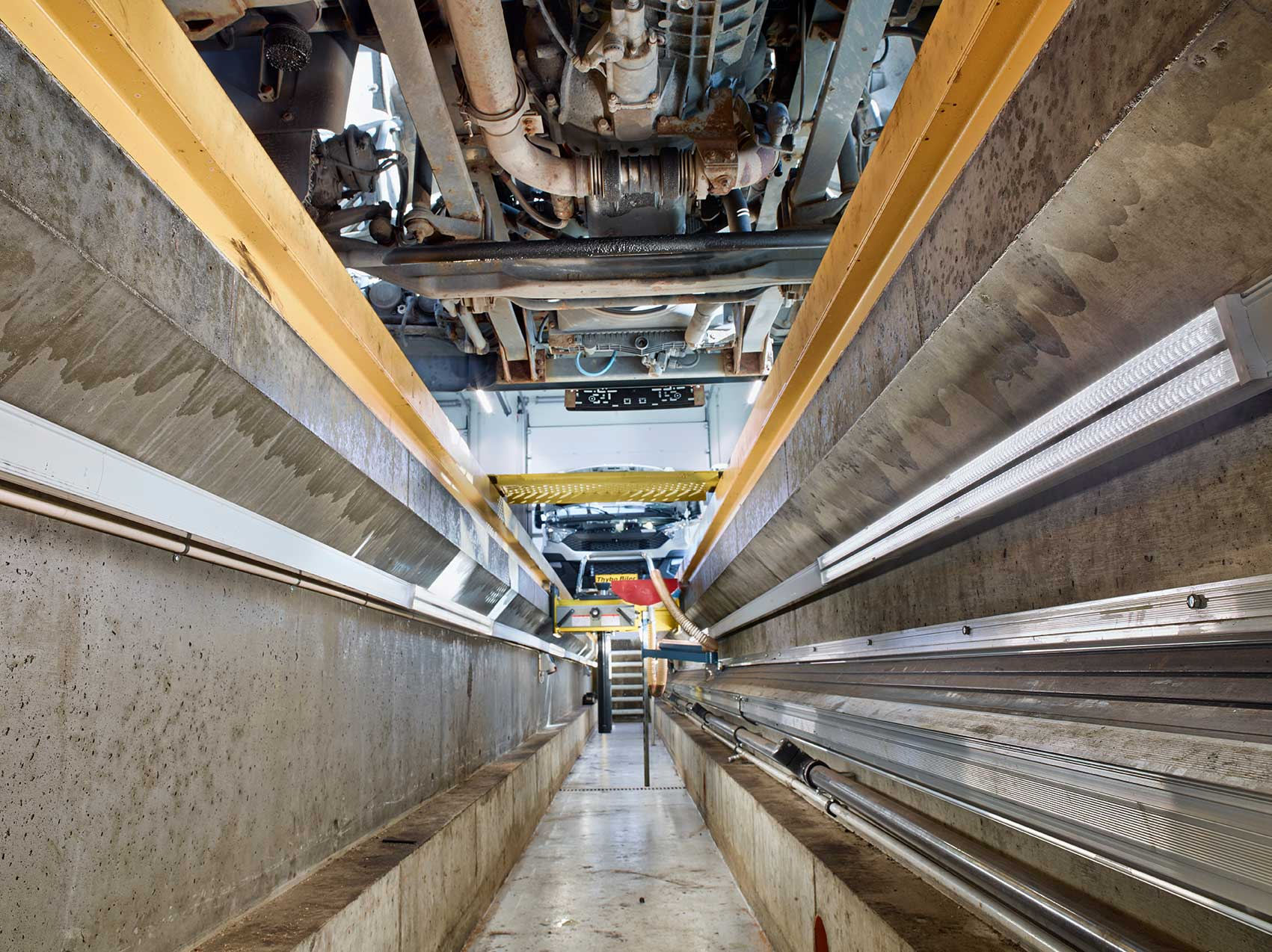 Linia indsats monteret i graven på værksted RIDI produkt - Luminex